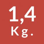 1,4 Kg.