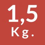 1,5 Kg.