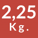 2,25 Kg.