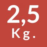 2,5 Kg.