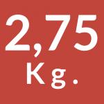 2,75 Kg.