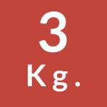 3 Kg.