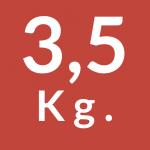 3,5 Kg.