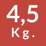 4,5 Kg.