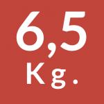 6,5 Kg.