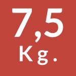 7,5 Kg.