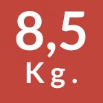 8,5 Kg.
