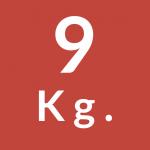 9 Kg.